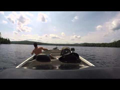 Summertime Bass Fishing New Hampshire