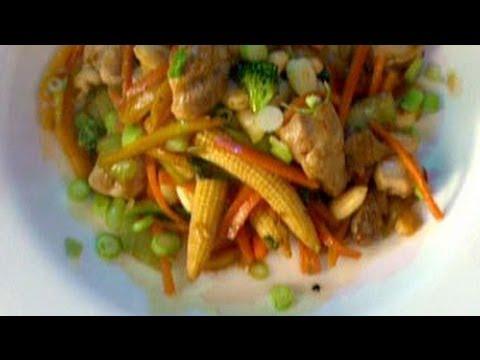 Chicken and Baby Corn Stir Fry
