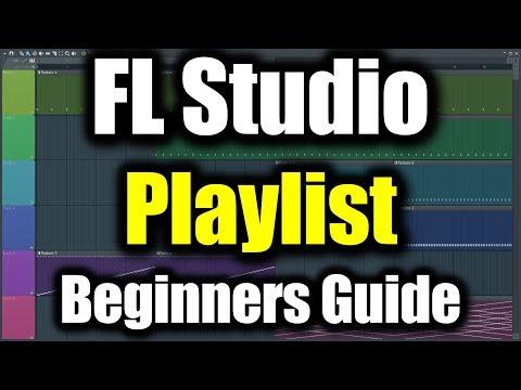 FL STUDIO PLAYLIST TUTORIAL   How to Use Playlist in FL Studio Beginners Guide   FL Studio Basics
