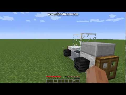 How to make a go kart in minecraft Xbox360/PC/PS3