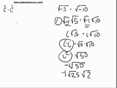 How to Multiply Imaginary Numbers
