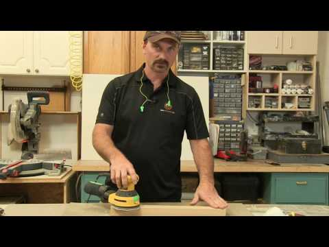 How To Use A Random Orbital Sander