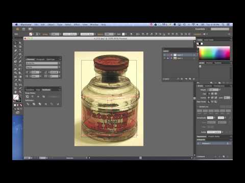 Creating Perfect Symmetrical Objects in Adobe Illustrator CS6