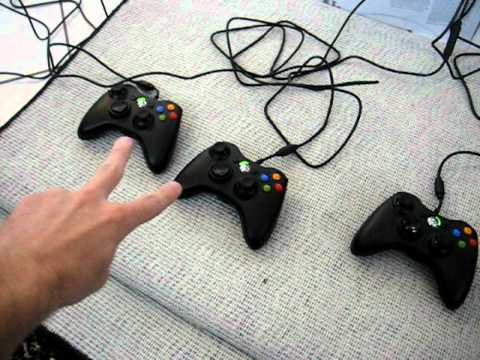 Xbox360 wired controller problem. Part 2 of 2.
