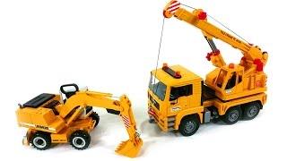Unser Spielzeug - Bagger und Kran - Bruder Cars - Bruder Autos