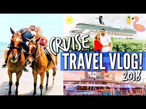 🛳 CARNIVAL CRUISE TRAVEL VLOG | 2018 CARNIVAL CONQUEST TO JAMAICA AND GRAND CAYMAN | Love Meg