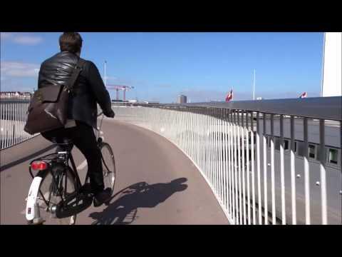 Copenhagen Bike Riding - From Amager Faelled to Fisketorvet