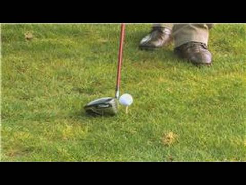 Golf Tips : How to Set Your Golf Club Behind the Ball