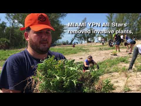 MIAMI YPN Beach Restoration Project
