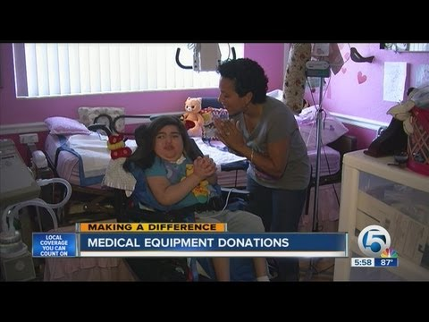 Medical equipment donations