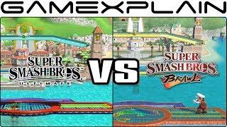 Super Smash Bros. Ultimate Graphics Comparison: Switch vs. Wii