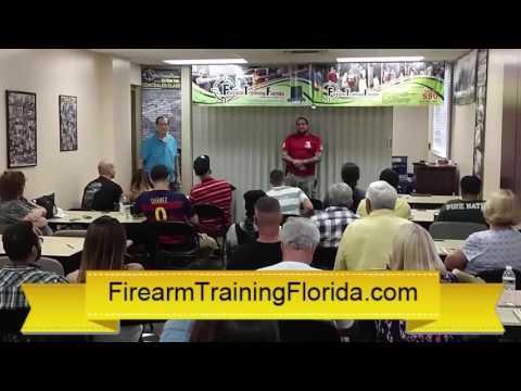 How do I get my florida concealed permit - FirearmTrainingFlorida.com