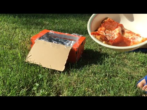 How To Make A Solar Shoebox Microwave