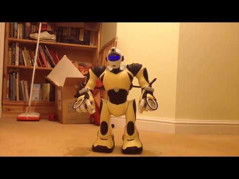 Fixing Wowwee Robotics RSV2 Robosapien V2 Part 9