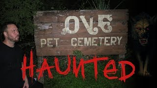 HAUNTED PET CEMETERY 24 HOUR OVERNIGHT CHALLENGE