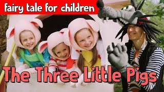 Bumblee and Ladybelle - The Three Little Pigs - fairy tale for children