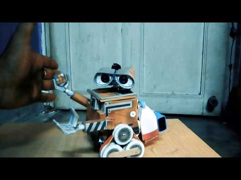How to make wall e robot at home