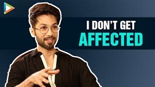 Shahid Kapoor on Why CRITICISM of Kabir Singh Doesn't BOTHER him | Kiara Advani