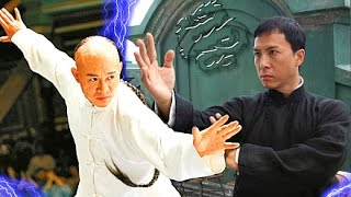 Jet Li vs Donnie Yen! - (IP Man VS Danny the Dog)☯ Epic Wushu Martial Arts Fights & Training.