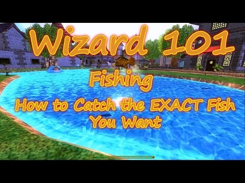 Wizard101: Fishing -  How to catch the Exact fish you are looking for Rare, Epic, or Common