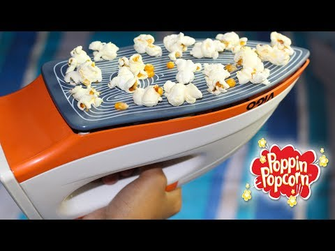 How to make Popcorn using Electric Iron
