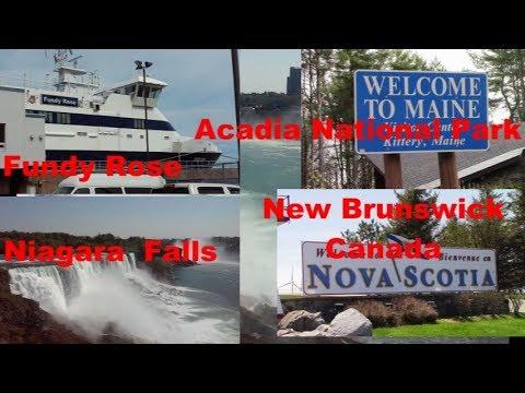 CLASS B Adventure - Georgia to Maine Canada Niagara Falls NY2018