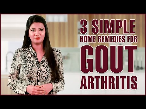 How To Get Rid Of GOUT PAIN (INFLAMMATORY ARTHRITIS) With Home Remedies