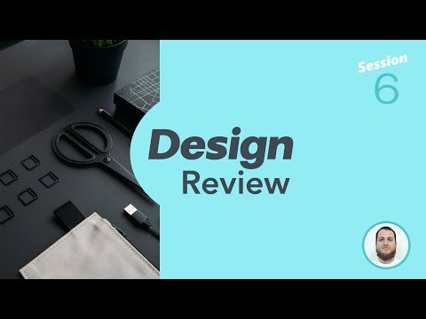 Design Review Session 6 → Improve your Color Schemes and Web Design