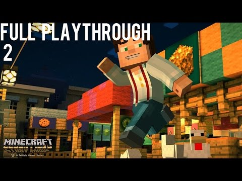 Minecraft Story Mode - Ivor's Dodgy Deal - Let's play part 2