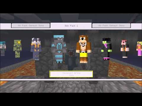 Minecraft Xbox 360 Edition: New Skin Pack 1 DLC!