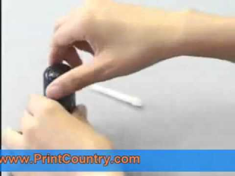 How to Refill HP 56 (C6656AN) Ink Cartridge - Ink Refill Instructions