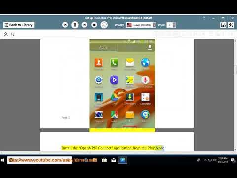Set up Trust.Zone OpenVPN on Android 4.4 KitKat