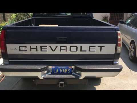 How To Change Tail Light Bulbs On A Chevrolet Truck