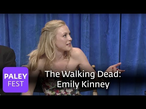 The Walking Dead - How Emily Kinney Deals With Character Deaths