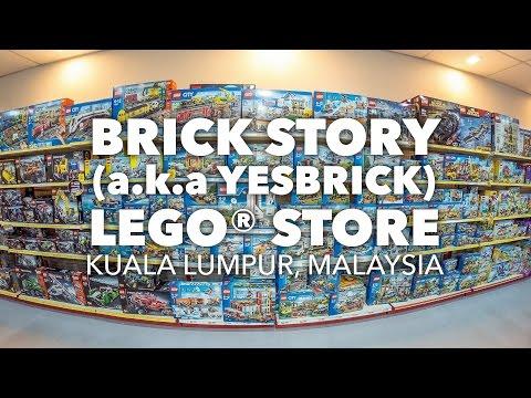 BRICK STORY - LEGO® Store, Kuala Lumpur, Malaysia