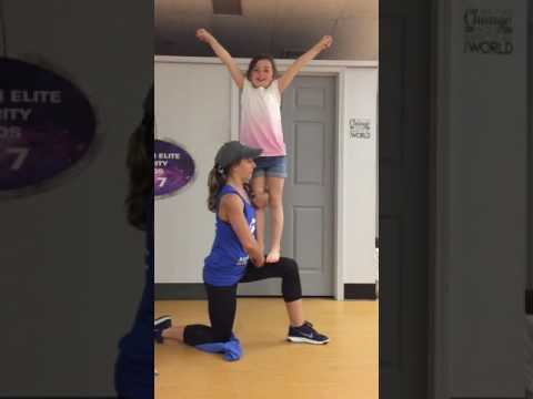 How to do a knee stunt