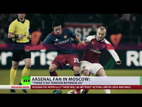 British fans enjoy trip to Russia despite tensions between countries