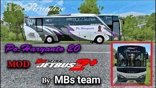 Mod Jetbus 2 Hd Setra Mbs Team Bus Simulator Indonesia