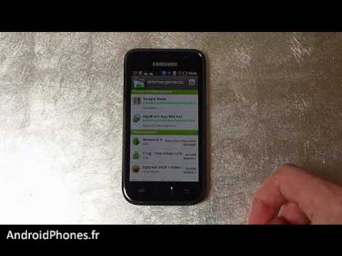 Samsung Galaxy S - Android Market