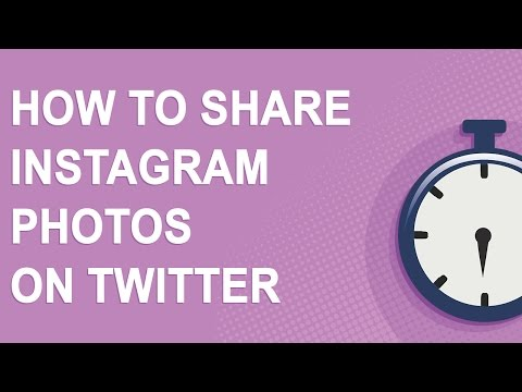How to share Instagram photos and videos on Twitter