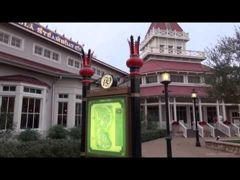 Disney's Port Orleans Riverside 2013 Christmas Decorations - Walt Disney World