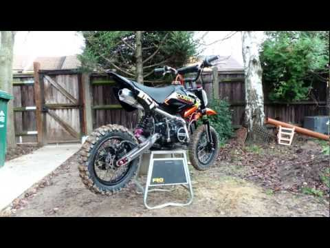 How to rebuild a pitbike motocross bike