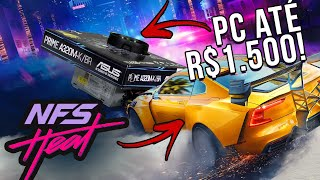 PC de APENAS R$ 1.500 encara o Need For Speed Heat! PC da Crise vai dar conta?