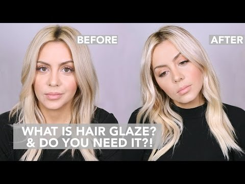What is Hair Glaze and do YOU need it ?!