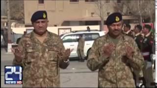 COAS Qamar Javed Bajwa in action