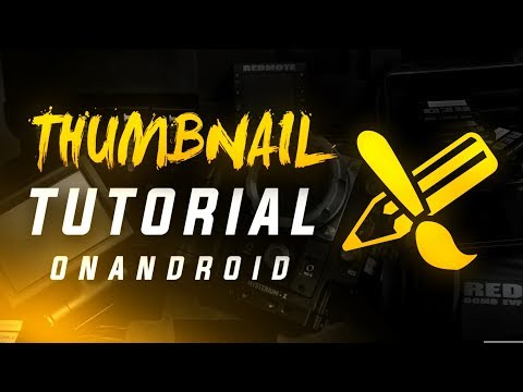 HOW TO MAKE DOPE THUMBNAILS ON ANDROID (Ps Touch)
