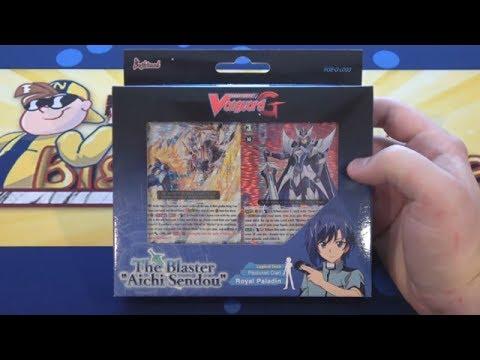 Cardfight Vanguard The Blaster Aichi Sendou Royal Paladin Legend Deck Opening