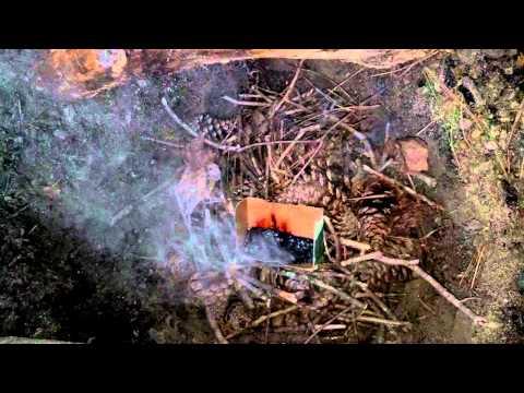 Antifreeze fire