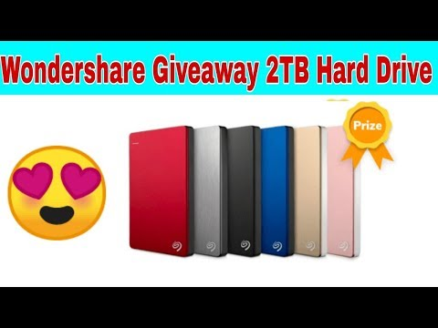 Win 2 TB Hard Drive and Download Free WonderShare  Recoverit Software