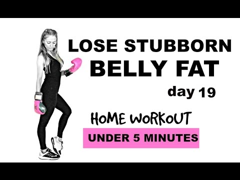LOSE BELLY FAT - HOME HIIT WORKOUT - SUITABLE AS BEGINNERS WORKOUT - NO EQUIPMENT NEEDED